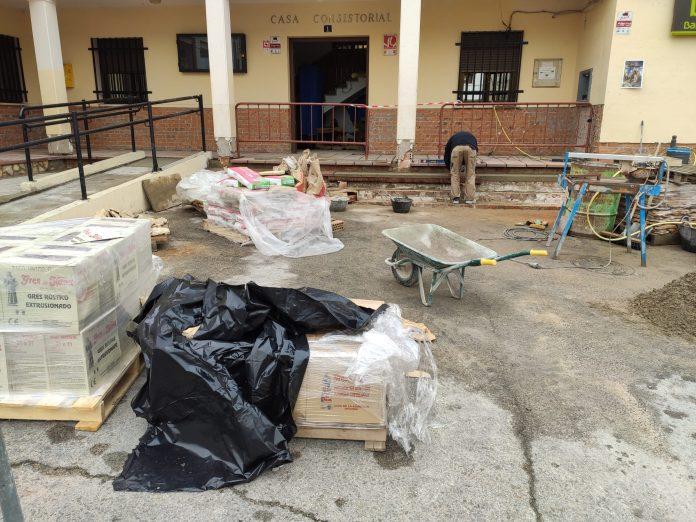Rehabilitación accesos Ayuntamiento